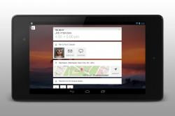 Cal - Calendar by Any.do Widget on Tablet