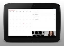 Cal - Calendar by Any.do on Tablet