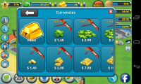 City Island - In app purchases