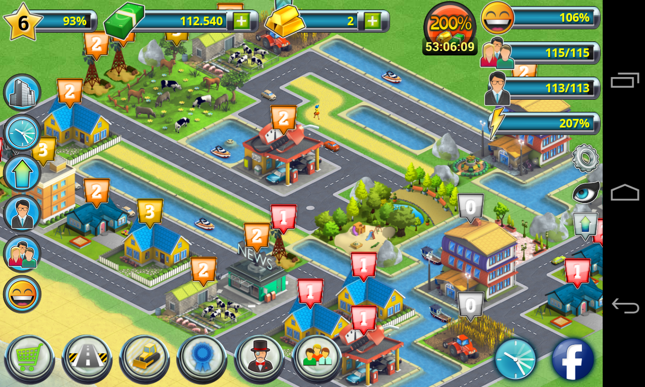 City island 2 building story play the sequel game for Virtual house building games online