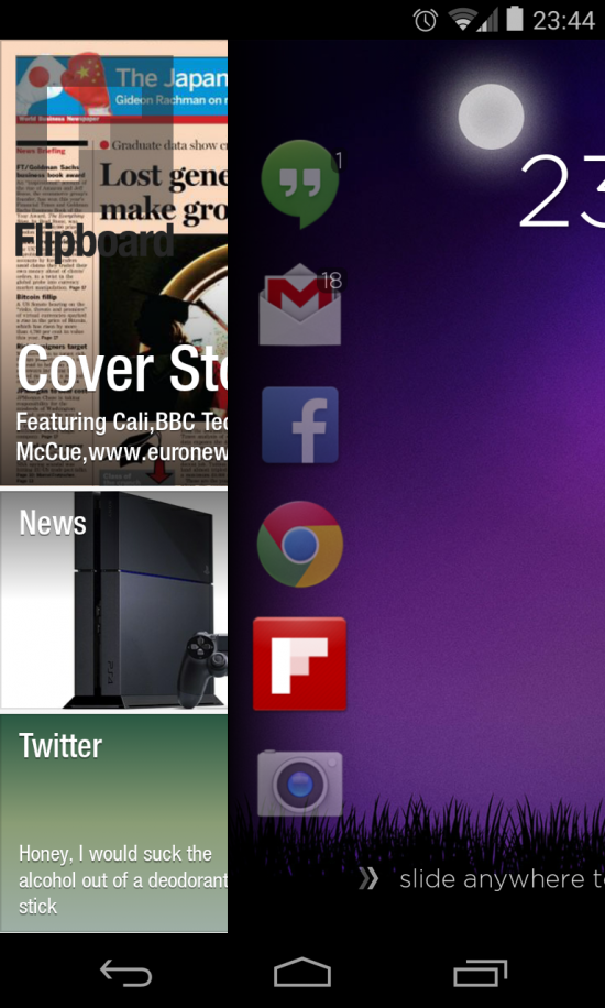 Cover (beta) app learns how you use your phone & presents the right apps at the right time