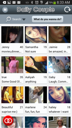 Daily Couple Mobile Dating - Search