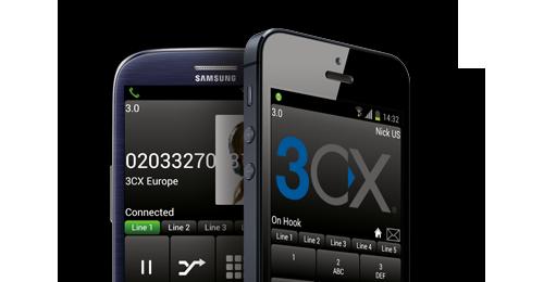 3CX on Phones