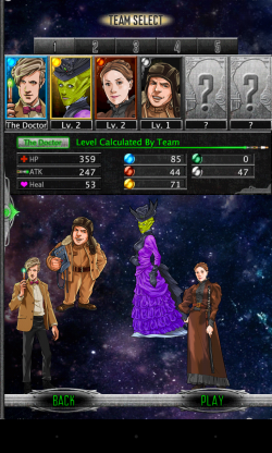 Doctor Who Legacy - Assemble your team