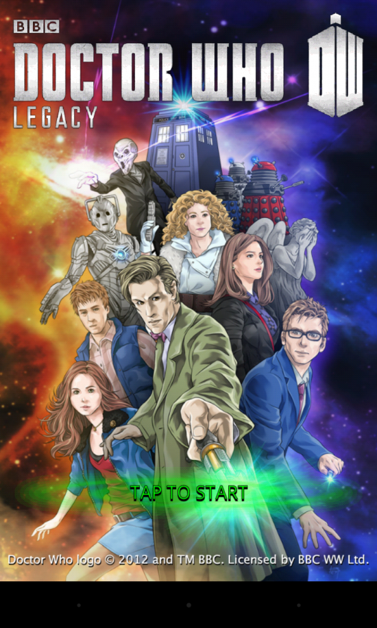 Doctor Who: Legacy. Play the official puzzle game of the hit TV series