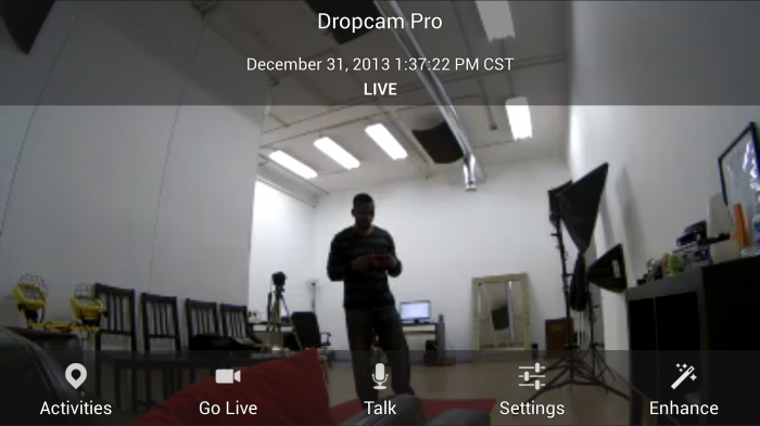 Dropcam Pro – easiest video security monitoring camera for Android & iOS