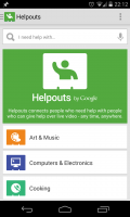 Helpouts - Home page