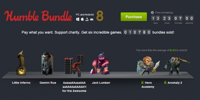 (Download) Humble Bundle 8 – pay what you want for 6 games