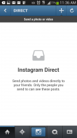 Instagram Direct - Inbox Empty