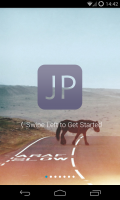 JotterPad X - Start screen