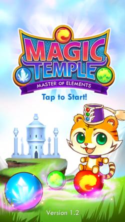 Magic Temple - Start Screen