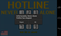 Never Alone Hotline - Occasional fc
