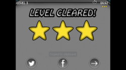 Planet Pang 3D - Level Cleared