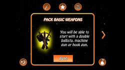 Planet Pang 3D - Purchase Weapon Pack