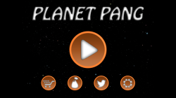 Planet Pang 3D - Start Screen