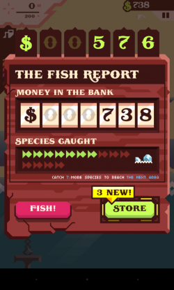 Ridiculous Fishing - Win cash
