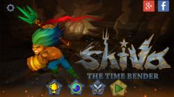 Shiva The Time Bender - Start Screen