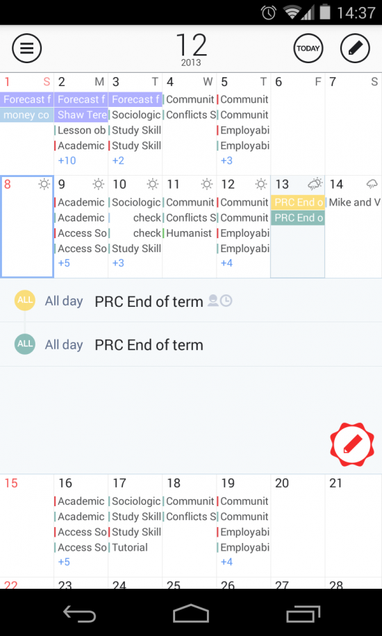 SolCalendar – a powerful & fun calendar app
