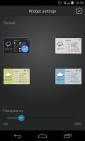 SolCalendar - Widgets settings