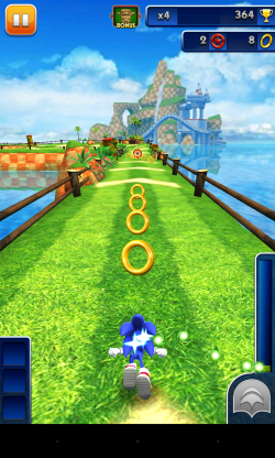 Sonic Dash - Gameplay sample (1)