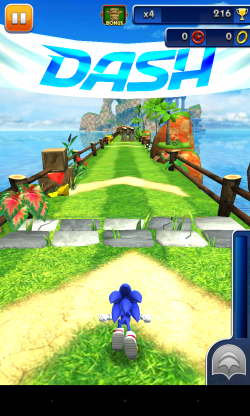 Sonic Dash - Gameplay sample (6)