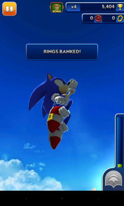Sonic Dash - Gameplay sample (7)