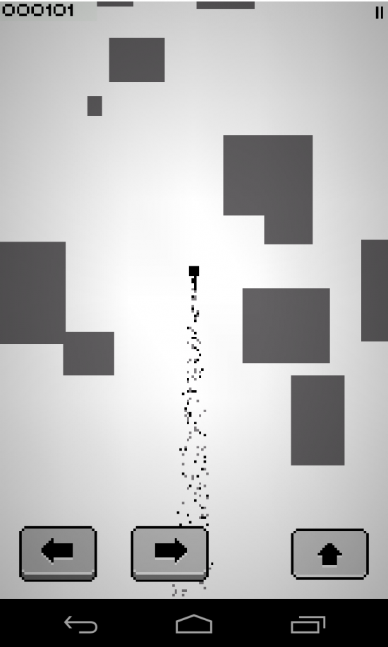 Spout: monochrome mission – play this addictive retro action game