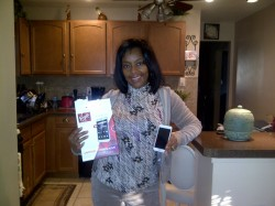 Sylvia Duncan - Winner of Samsung Galaxy SII 4G for Virgin Mobile
