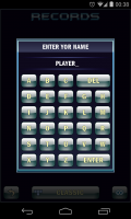 T-BLOX - Enter name for high score