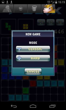 T-BLOX - Two game modes