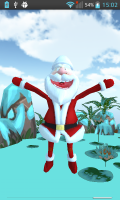 Talking Dancing Santa Claus 3D 3