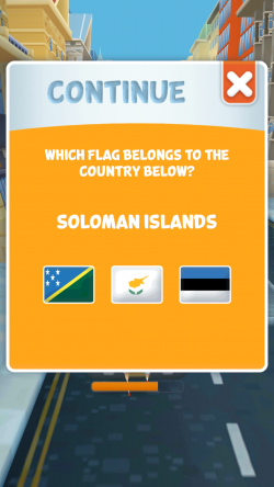 Torch Runner - Guess the Flag Correctly to Continue