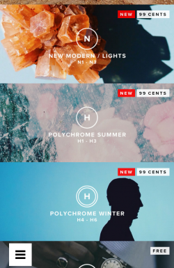 VSCO Cam - Purchase new filter packs