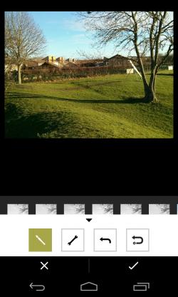 VSCO Cam - Setting per image