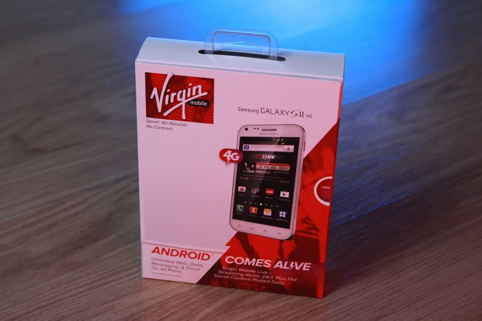Win a Samsung Galaxy SII 4G for Virgin Mobile