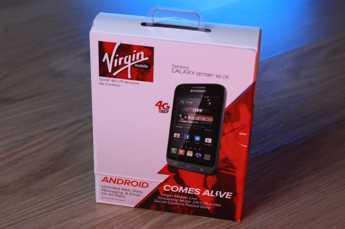 Win a Samsung Galaxy Victory 4G LTE for Virgin Mobile