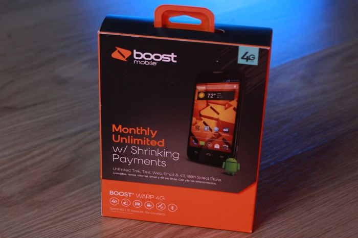 Win a Warp 4G for Boost Mobile
