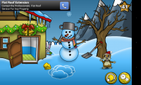 World of Cheese - Happy snowman