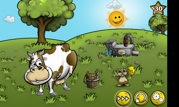 World of Cheese – solve clever logic puzzle games to feed the mouse