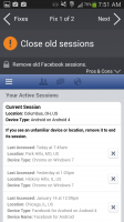 AVG Privacy Fix - Close Old Facebook Sessions