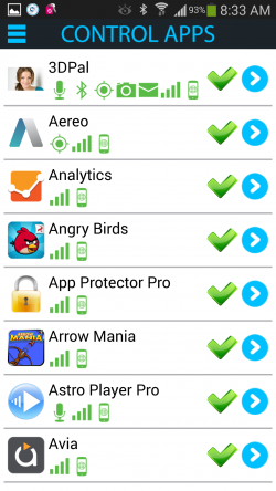 Antivirus Privacy Firewall - App Permissions