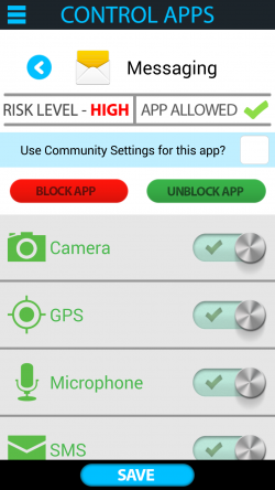 Antivirus Privacy Firewall - Control Apps