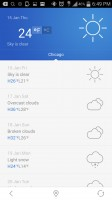 Baidu Browser - Weather