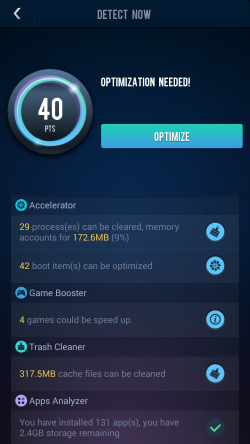 DU Speed Booster - Optimzation