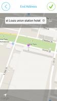 EasyBiz Pro Route Logger - Manually Enter End Address