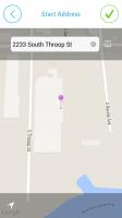 EasyBiz Pro Route Logger - Manually Enter Start Address