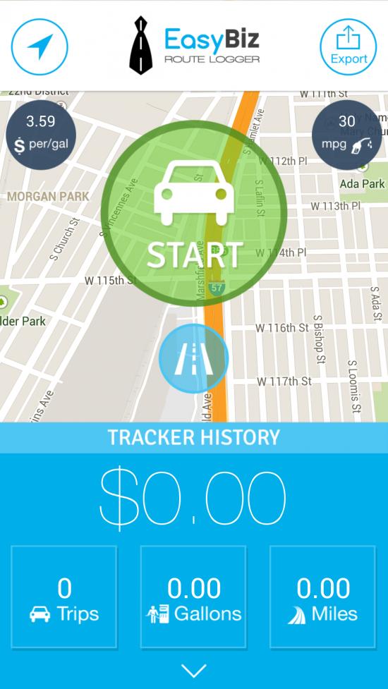 EasyBiz Pro: Route Logger & Mileage Expense Tracker