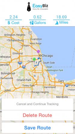 EasyBiz Pro Route Logger - Tracking