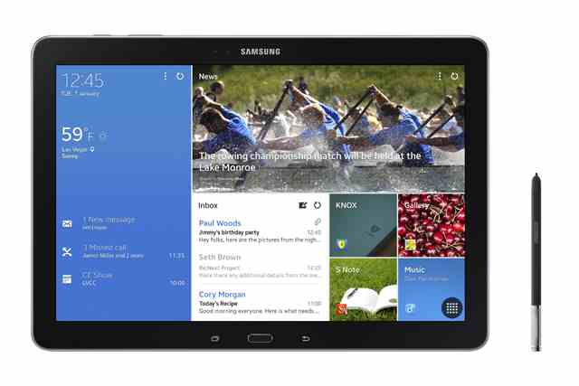 Samsung launches 4 new tablets Samsung Galaxy NotePRO and TabPRO series