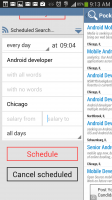 Indeed Job Search - Scheduled Search